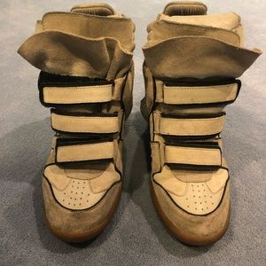 Isabel Marant Beckett Wedge Sneaker